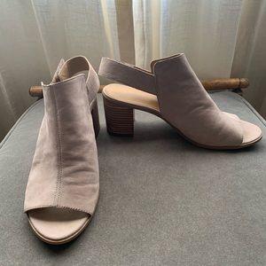 Franco Sarto nude sandals